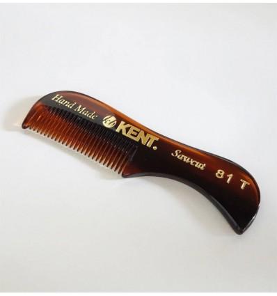 Ръчно изработен гребен за брада и мустаци  KENT
